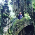 Sacred Monkey Forest Sanctuary Ubud  Indonesia