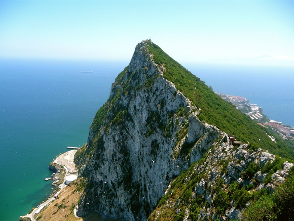 The Mediterranean watchtower Gibraltar  Gibraltar