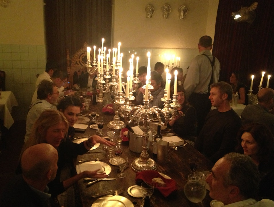 The most surreal dinner in Florence Florence  Italy