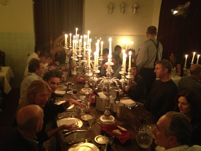 The most surreal dinner in Florence