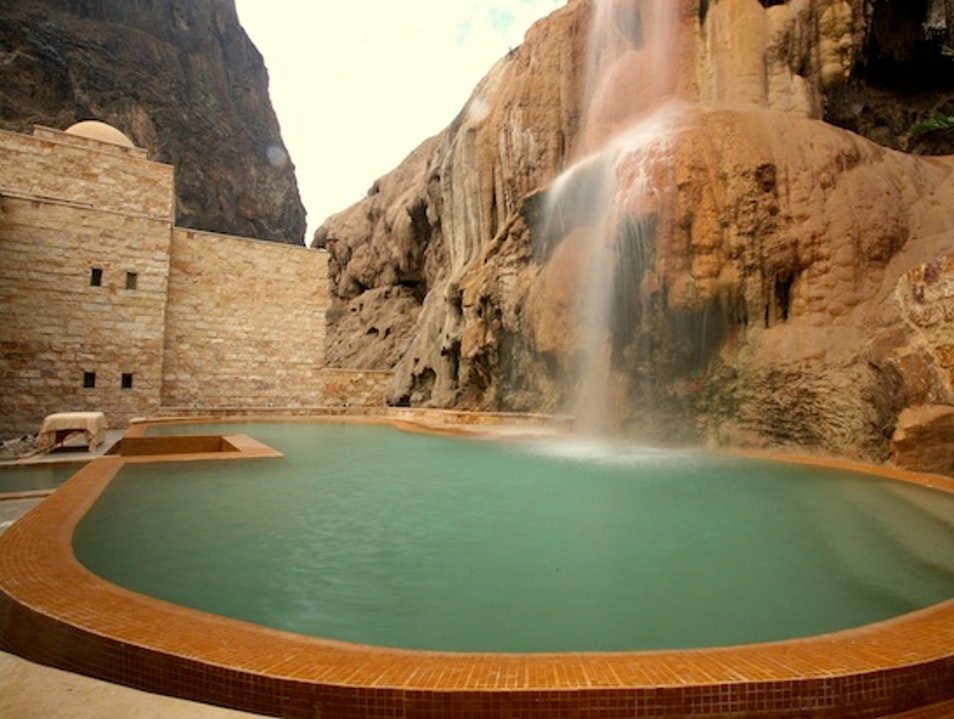 Hot Springs Lodgings: Evason Ma'In in Jordan Ma'in  Jordan