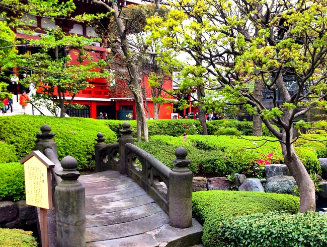 Tokyo's Oldest Temple