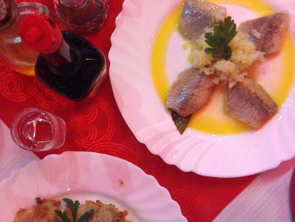 Herring and Vodka: the Perfect Combination