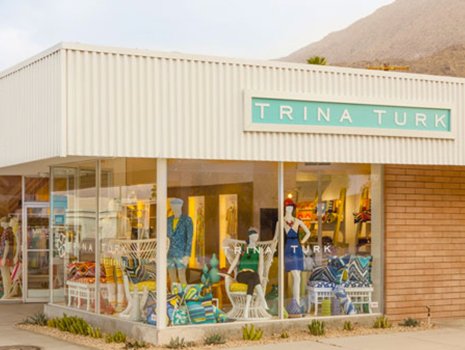 Colorful California Couture at Trina Turk Palm Springs California United States