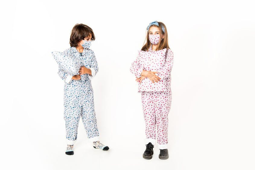 Many of the same patterns for kids are also available in adult sizes, too.