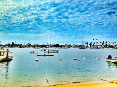 Balboa Island Newport Beach California United States