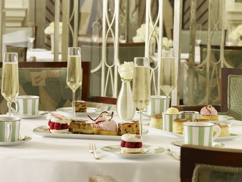 Claridge's Afternoon Tea London  United Kingdom