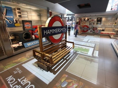The Museum Store @ London Transport Museum London  United Kingdom