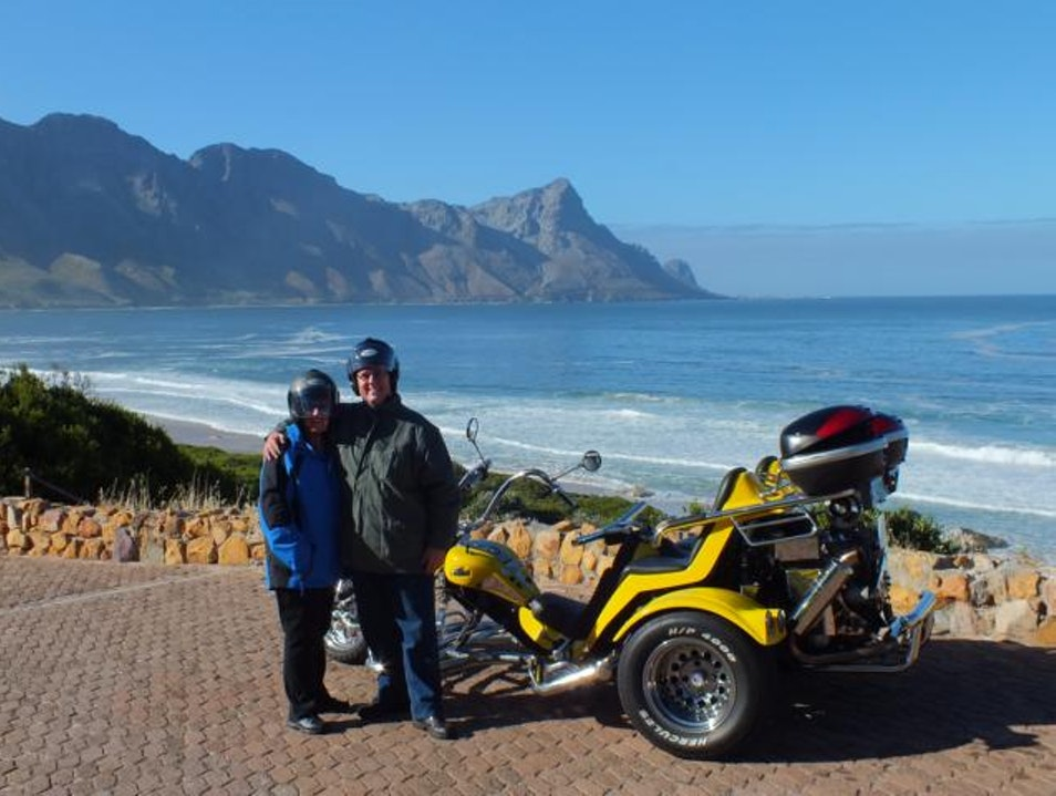 Full day Hermanus & Whale Route trike tour. Cape Town  South Africa