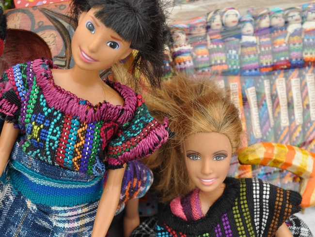 Barbie's fashion sense goes global