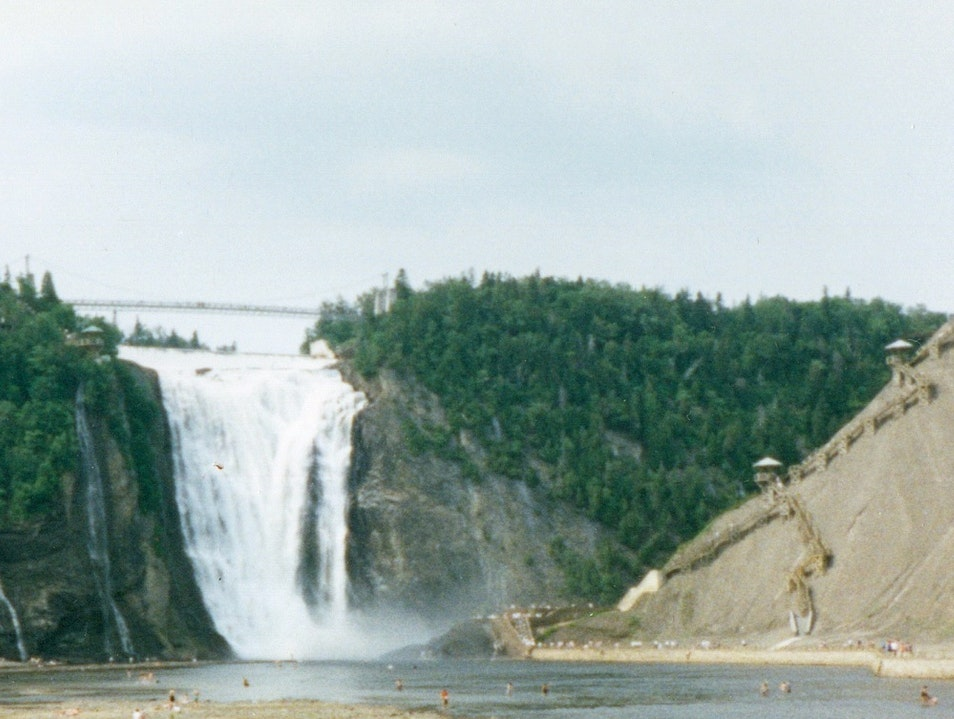 Chutes Montmorency Quebec City  Canada