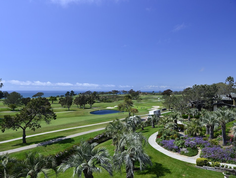Drink In The Expansive Golf and Ocean Views