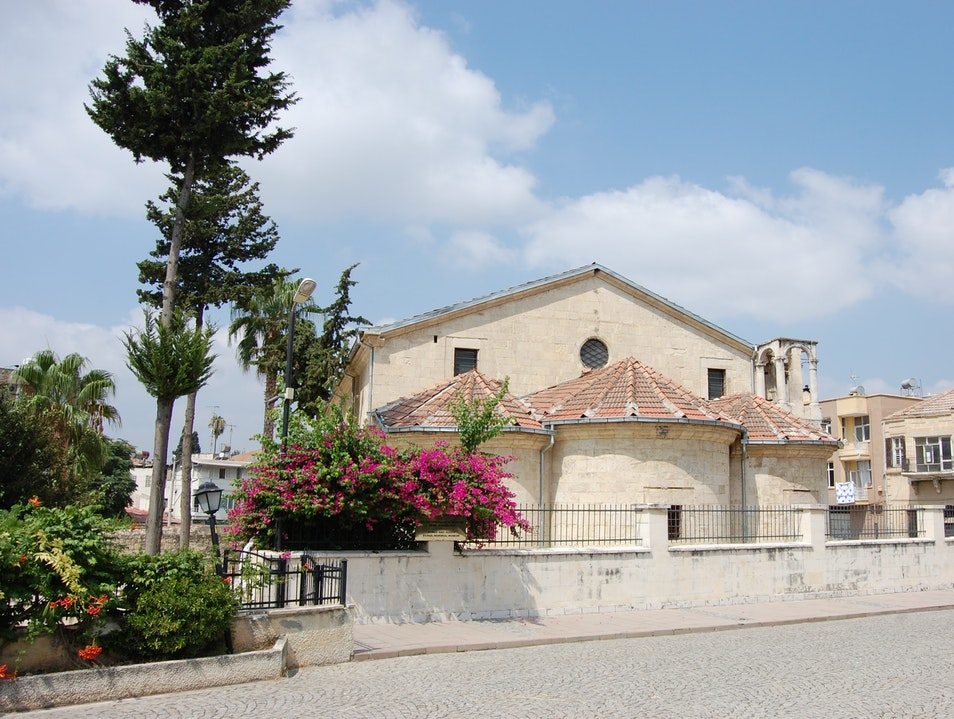 Visit the church named after the Apostle Paul in his own hometown of Tarsus Tarsus  Turkey