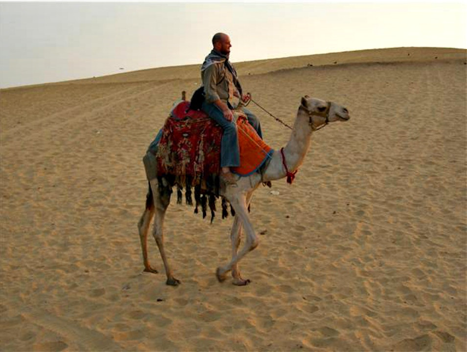Riding a Camel Through the Desert in Aswan Sheyakhah Oula  Egypt