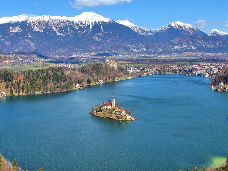 Lake Bled, Slovenia Scenic Viewpoints Bled  Slovenia