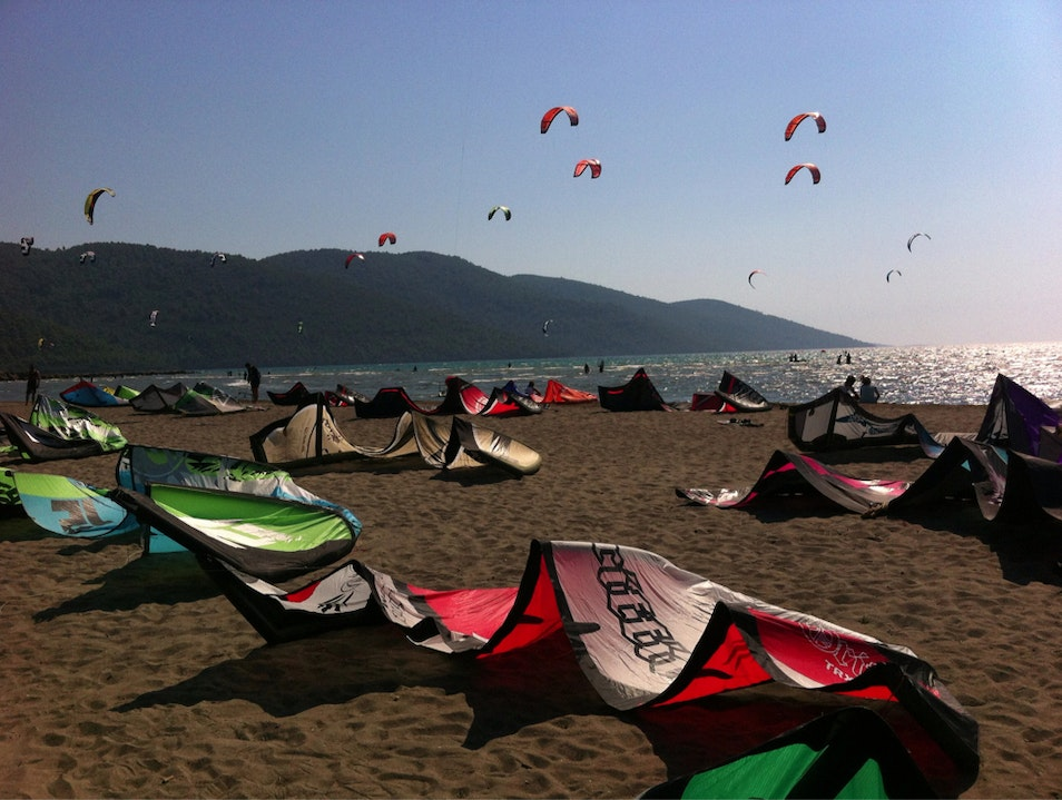 Kitesurfing At Its Finest Akyaka  Turkey