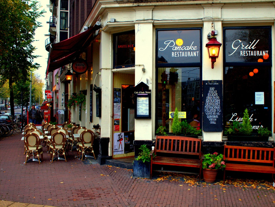 A Historical Café In The Heart Of Amsterdam