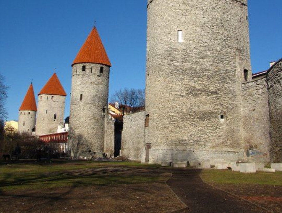 The Eternal Towers Tallinn  Estonia
