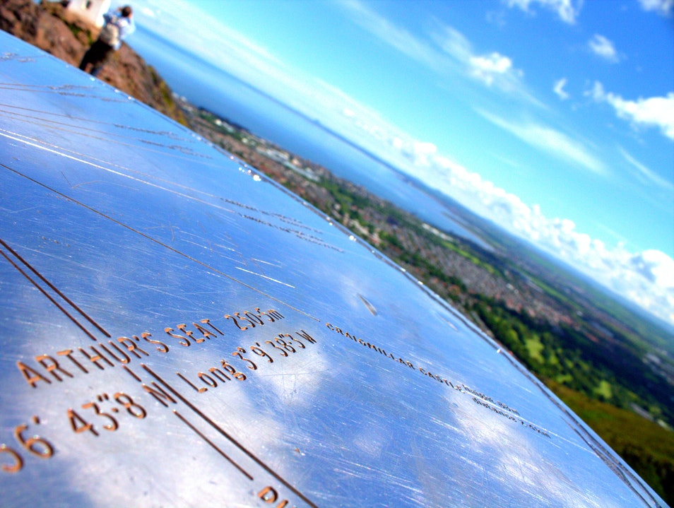 Arthur's Seat - The Best View of Edinburgh Edinburgh  United Kingdom