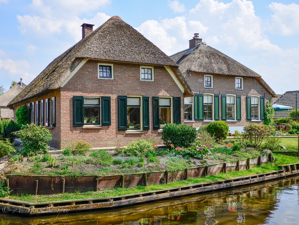 Beautiful homes in Giethoorn