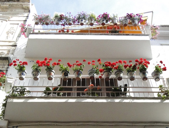 Strolling in Sitges