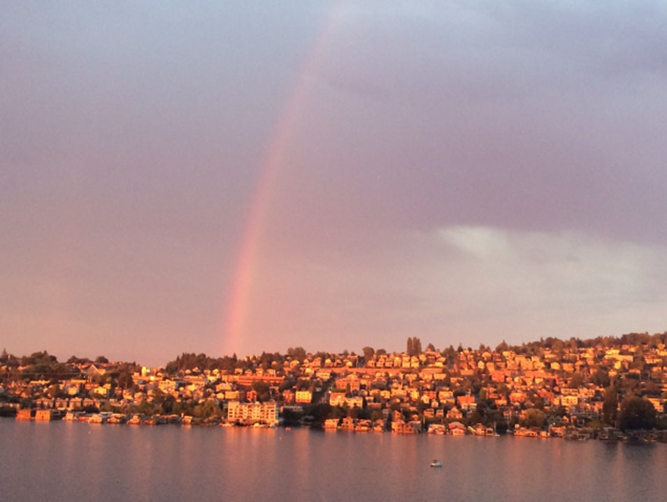 Sunsets & Rainbows Seattle Washington United States