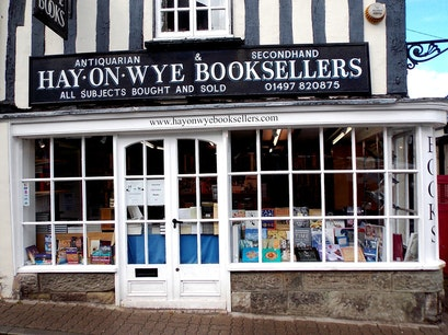 Hay On Wye Booksellers Hereford  United Kingdom