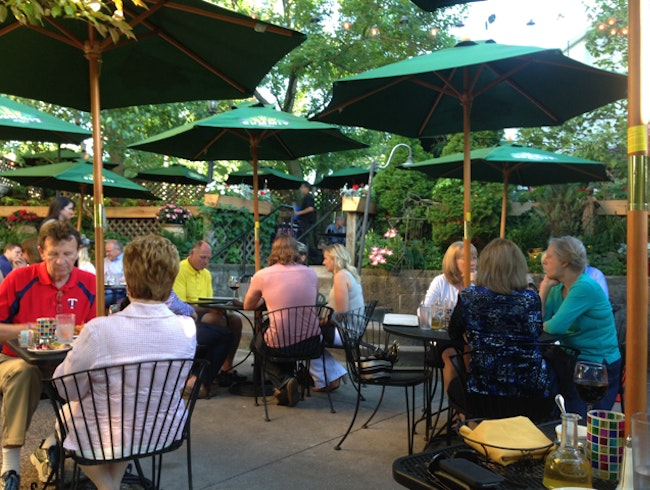 One of the best patios for summer dining