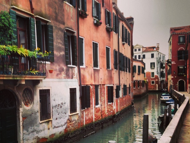 A Peaceful Venetian Canal