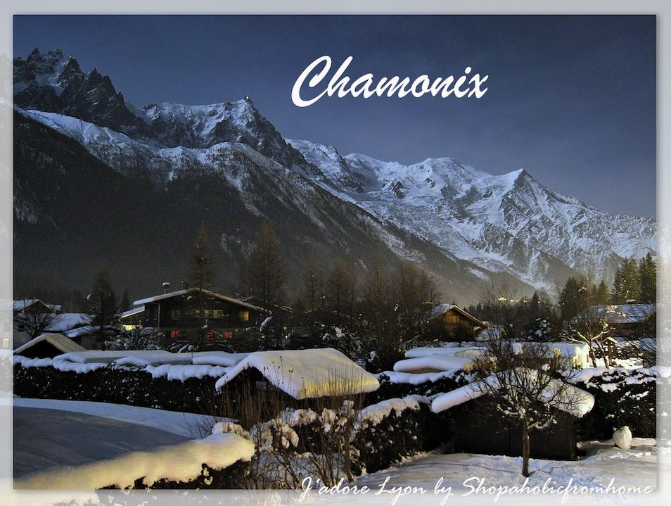 Chamonix - near Lyon ideal for skiing Chamonix Mont Blanc  France