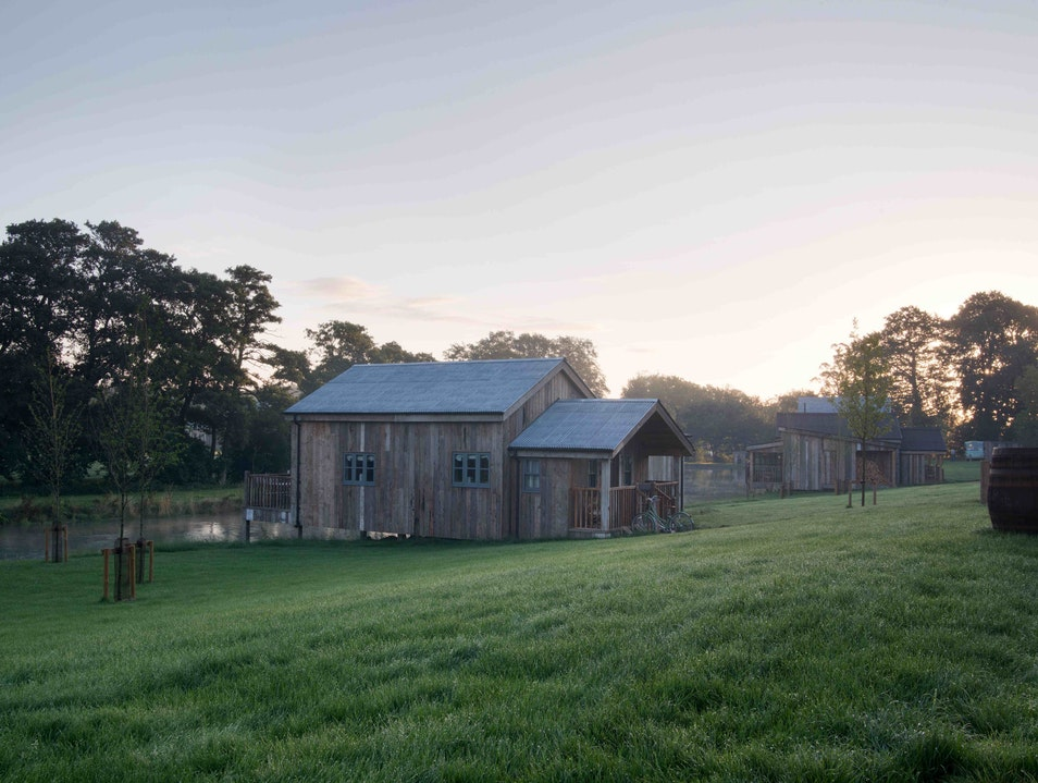 Relax in the Sauna at the Soho Farmhouse in Rural England Great Tew  United Kingdom