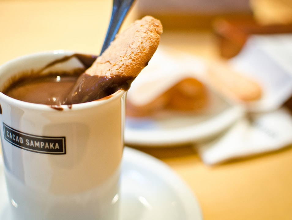 Drink or Dip? Hot Chocolate in Barcelona. Barcelona  Spain