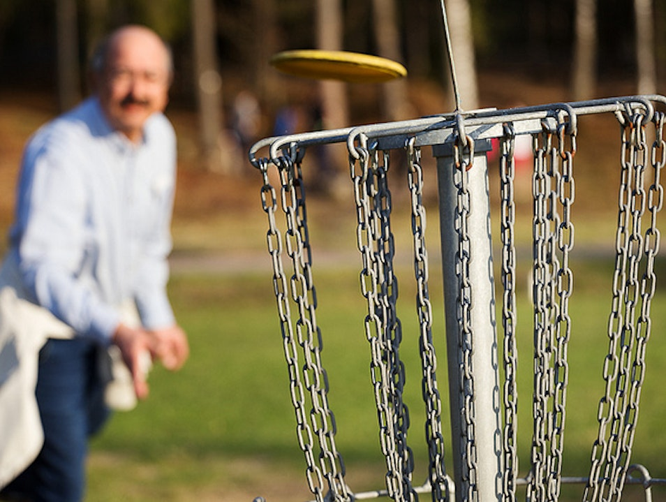 Play a Round of Disc Golf