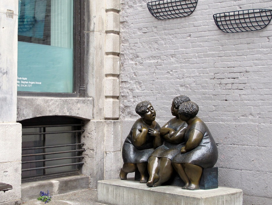 """""""Les chuchoteuses"""" (the Gossipers) Montreal  Canada"""