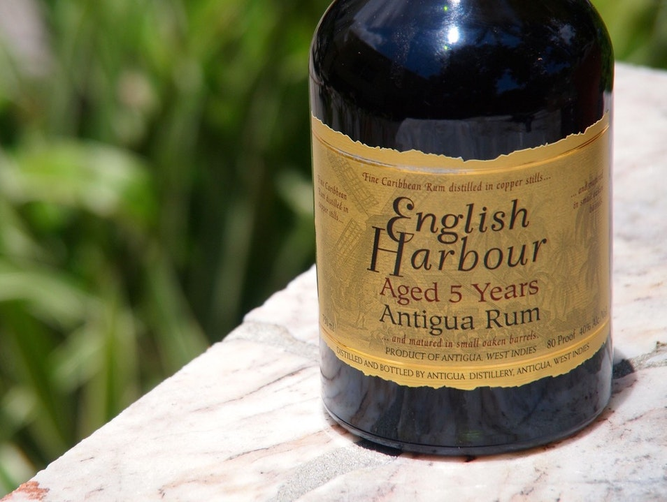 Step Up to English Harbour Rum Buckleys  Antigua and Barbuda