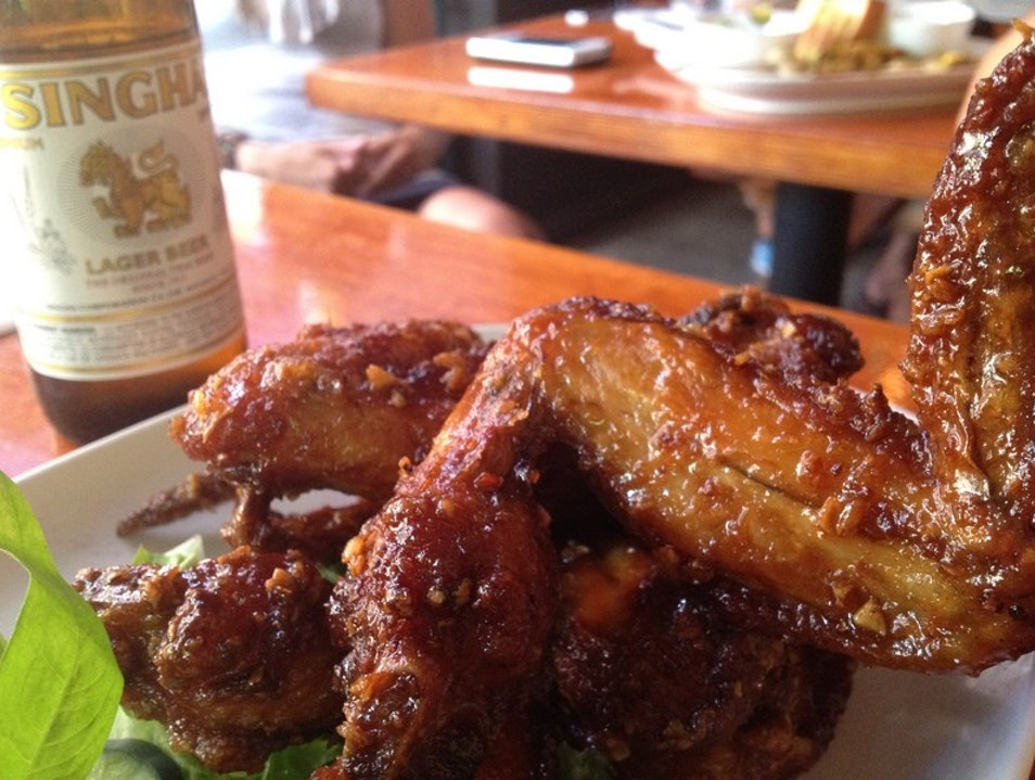 Ike's Wings Are Worth It at Pok Pok Portland Oregon United States