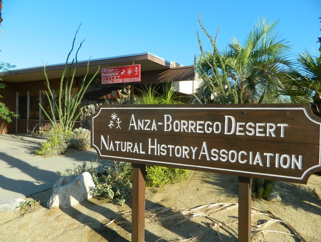 Learn about the Anza-Borrego Desert