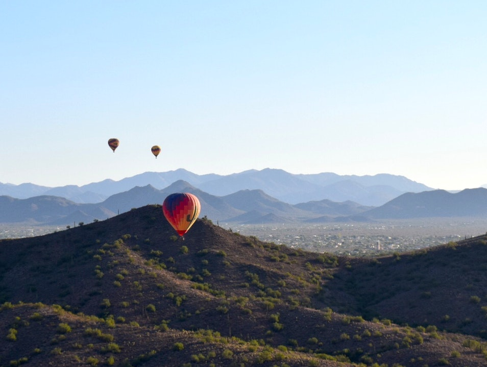 Hot Air Ballooning in Phoenix Phoenix Arizona United States