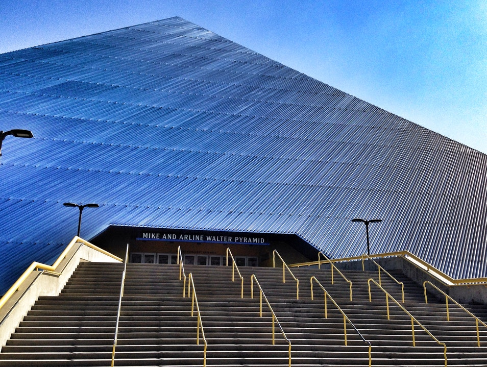 Root for the Local Team at the Walter Pyramid Long Beach California United States