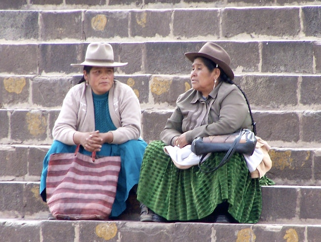 The women of Cusco