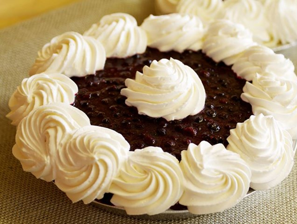 For Huckleberry Cream Pie West Yellowstone Montana United States