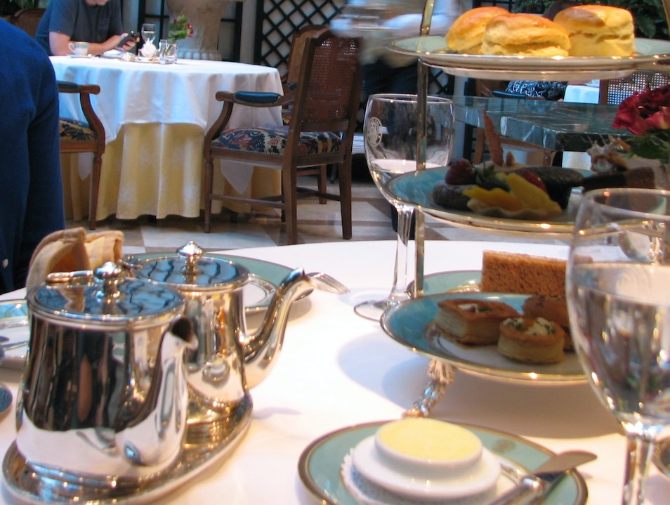Enjoy an intimate tea for two Buenos Aires  Argentina