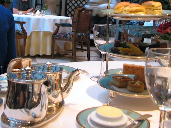 Enjoy an intimate tea for two