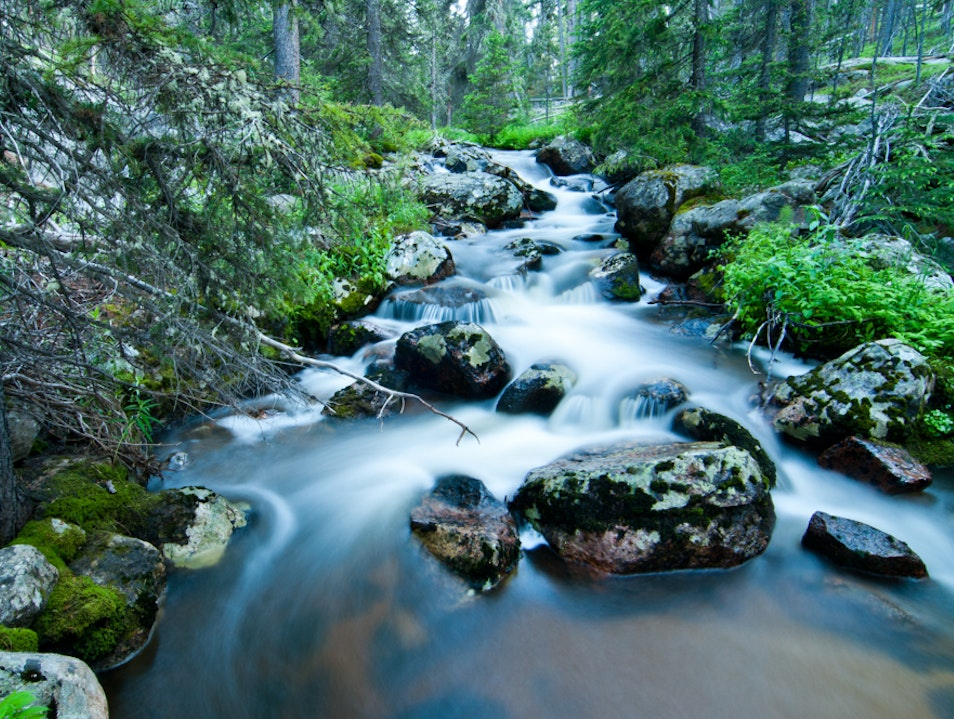 Go with the Flow at Ranger Creek Sheridan Wyoming United States