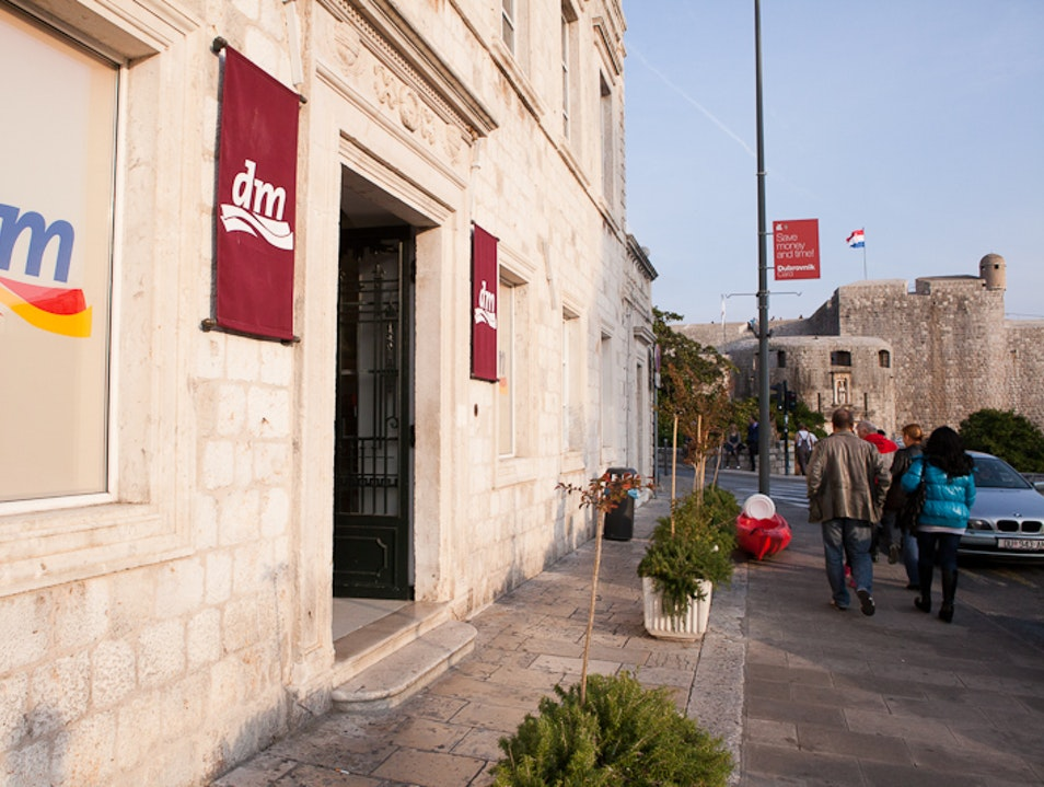 Get necessities and gluten-free food at the grocery store Dubrovnik  Croatia