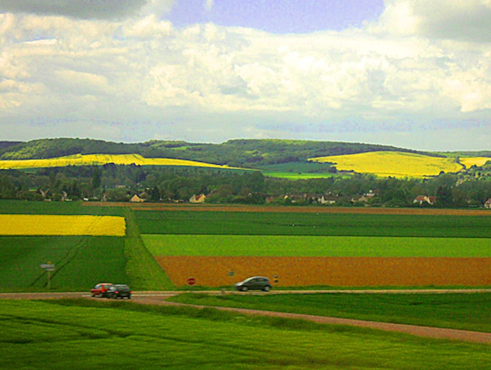 Between Dijon and Paris