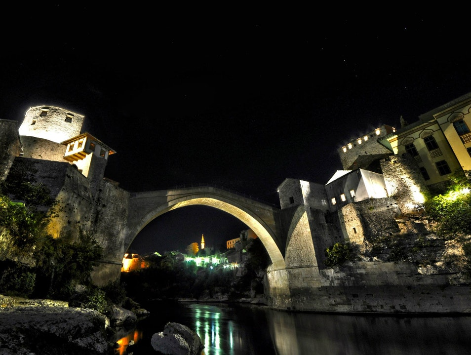 The bridge that defines this city. Mostar  Bosnia and Herzegovina