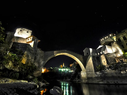 Mostar Bridge Mostar  Bosnia and Herzegovina