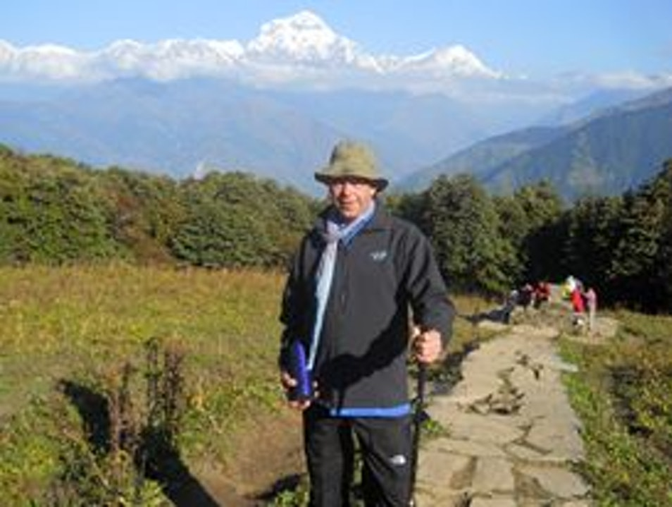 Nepal Annapurna base camp trekking with aboutnepaltreks.com Pokhara  Nepal