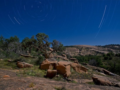 Enchanted Rock State Natural Area Fredericksburg Texas United States